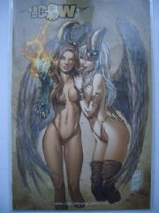 Witchblade #68 Wizard World Texas Color Foil Ltd 500